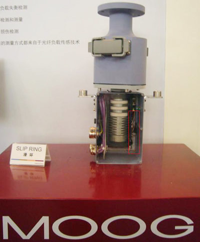 PTC加热器RC 01610应用在MOOG滑环中